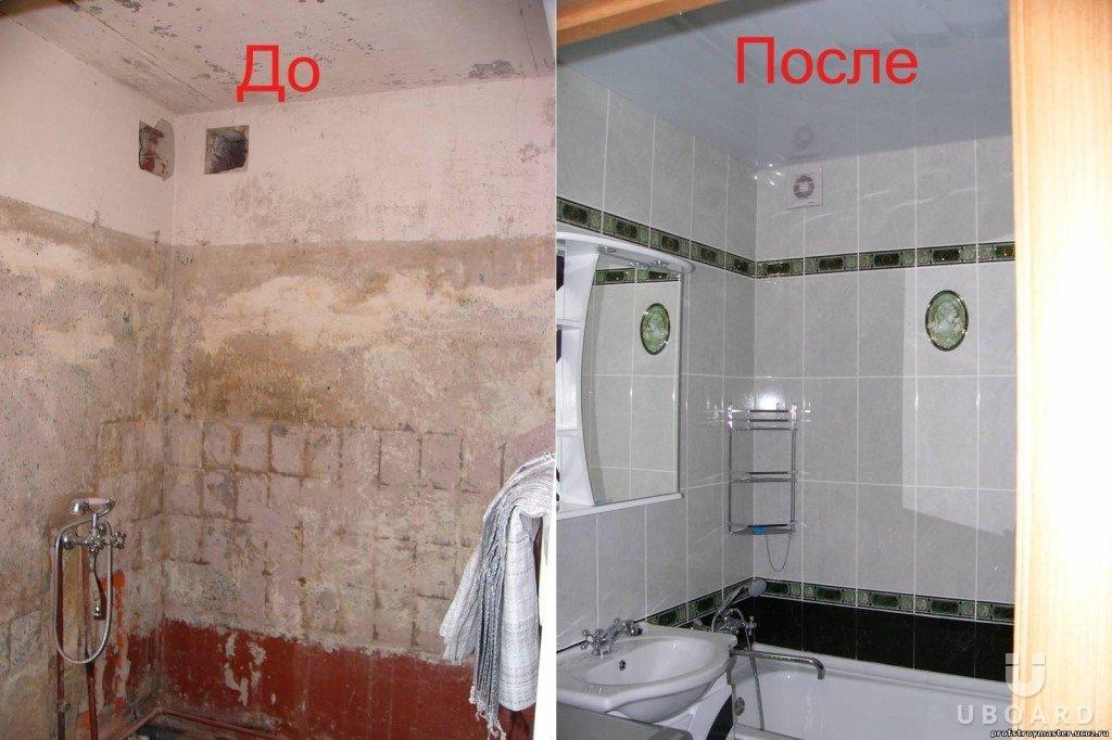 Ремонт плитки на стене в ванной комнате своими руками