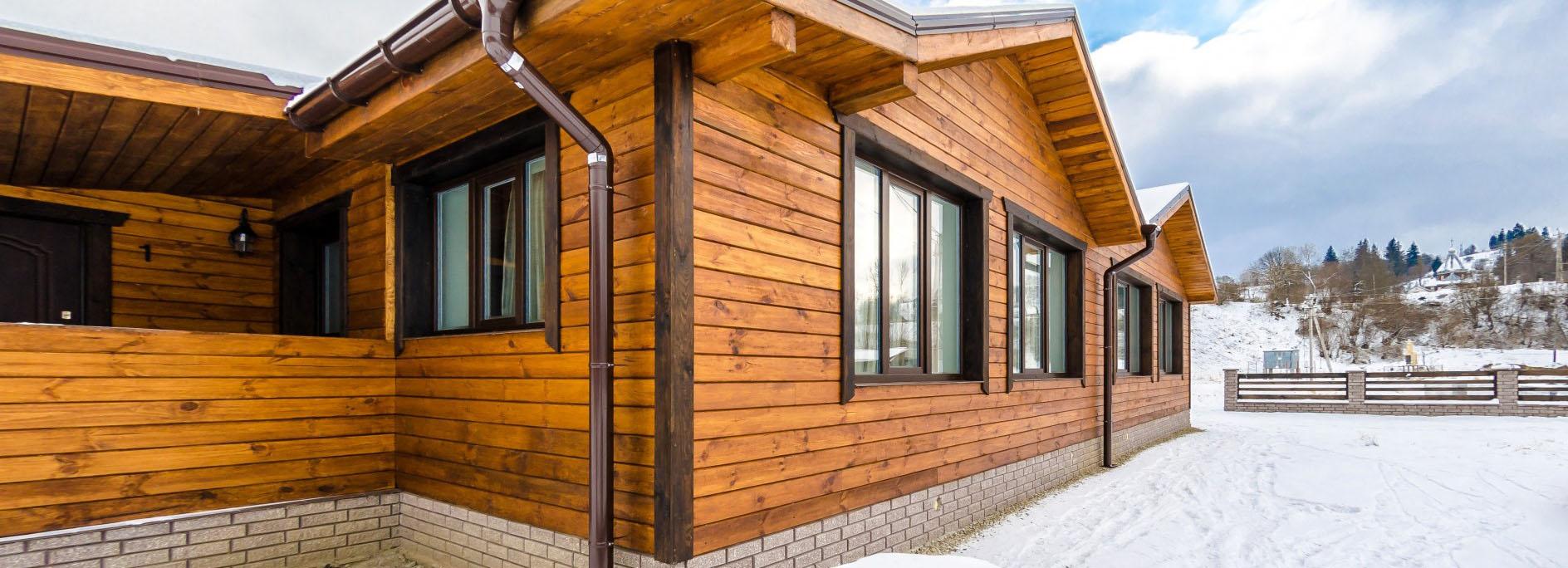 Отделка фасада частного дома варианты, что лучше выбрать