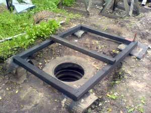 Как построить туалет на даче или загородном участке своими руками