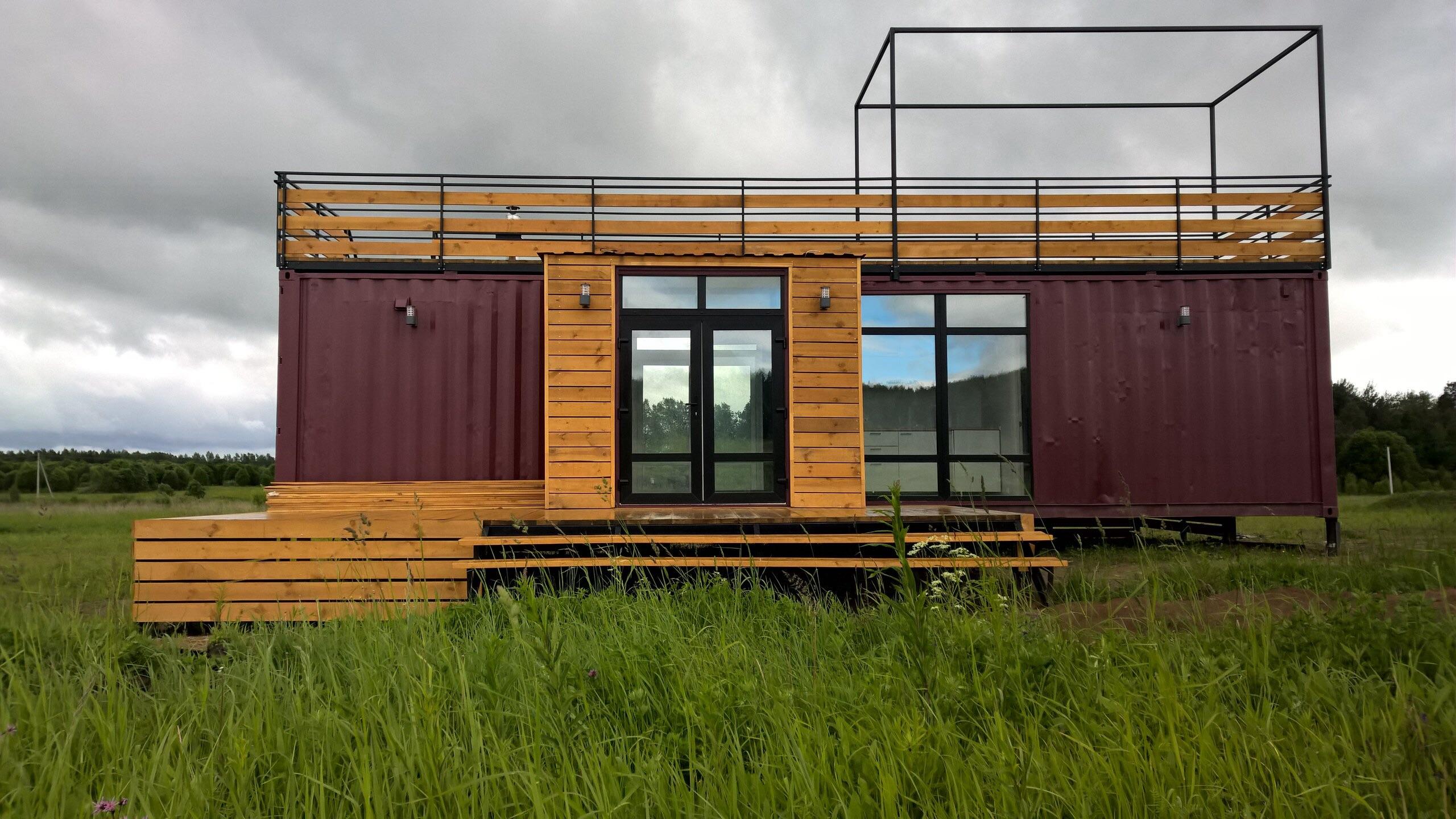 Модульные дома из контейнеров для круглогодичного проживания