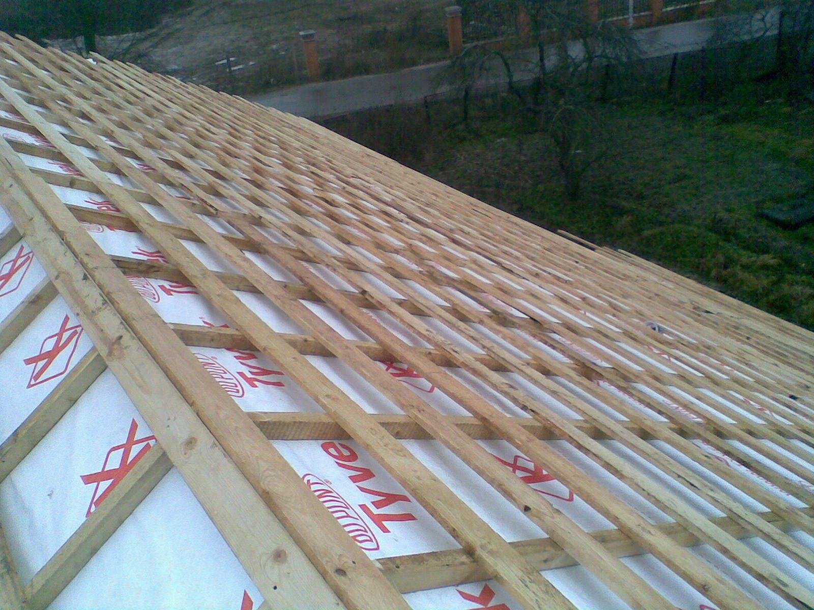 Устройство основания под крышу как правильно сделать