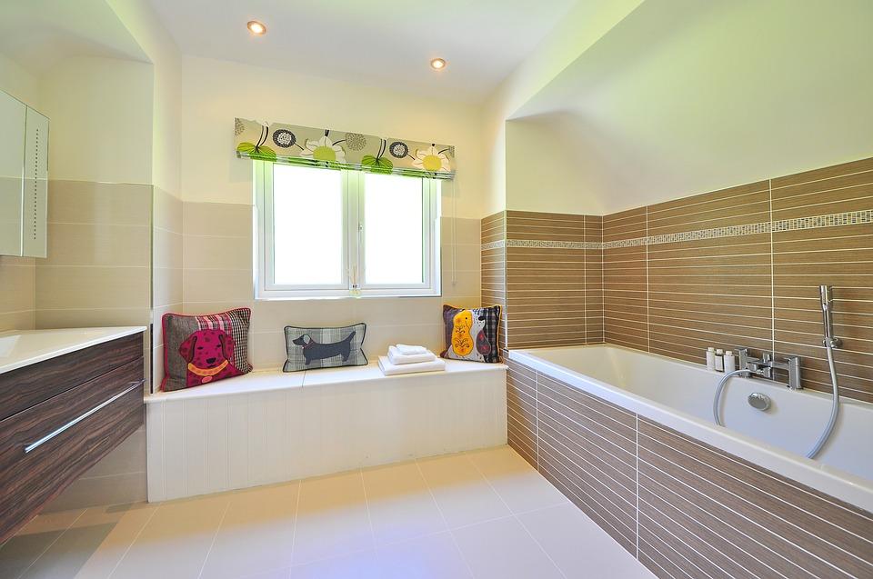 Дизайн и размеры большой ванной комнаты в частном доме