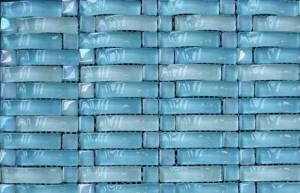 Стеклянные керамические плитки для ванной комнаты и кухни, виды