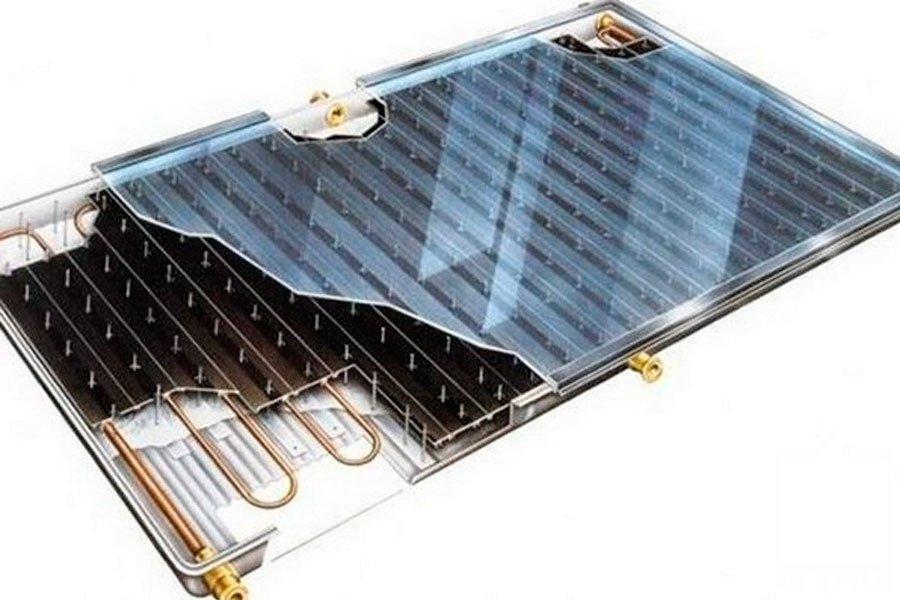 Виды солнечных тепловых коллекторов для отопления дома