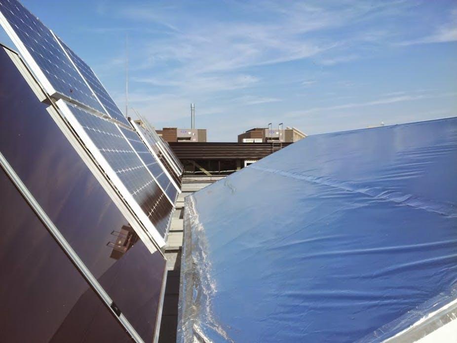отражатели на солнечных панелях могут повысить производительность до 30%