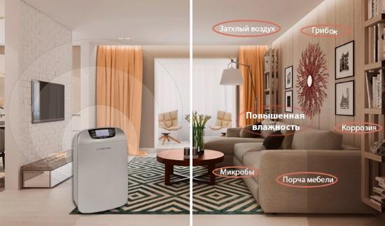 Как подобрать осушитель воздуха для квартиры и дома