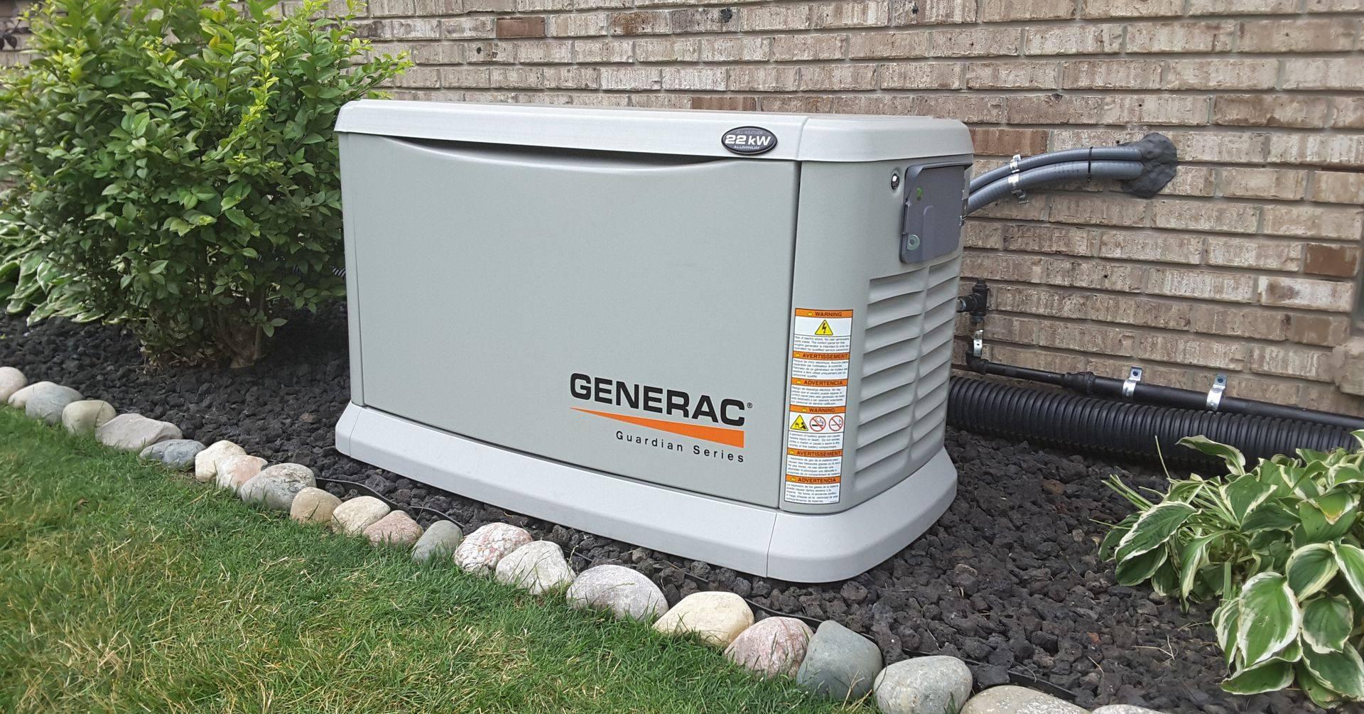 Как выбрать резервный генератор питания для загородного дома