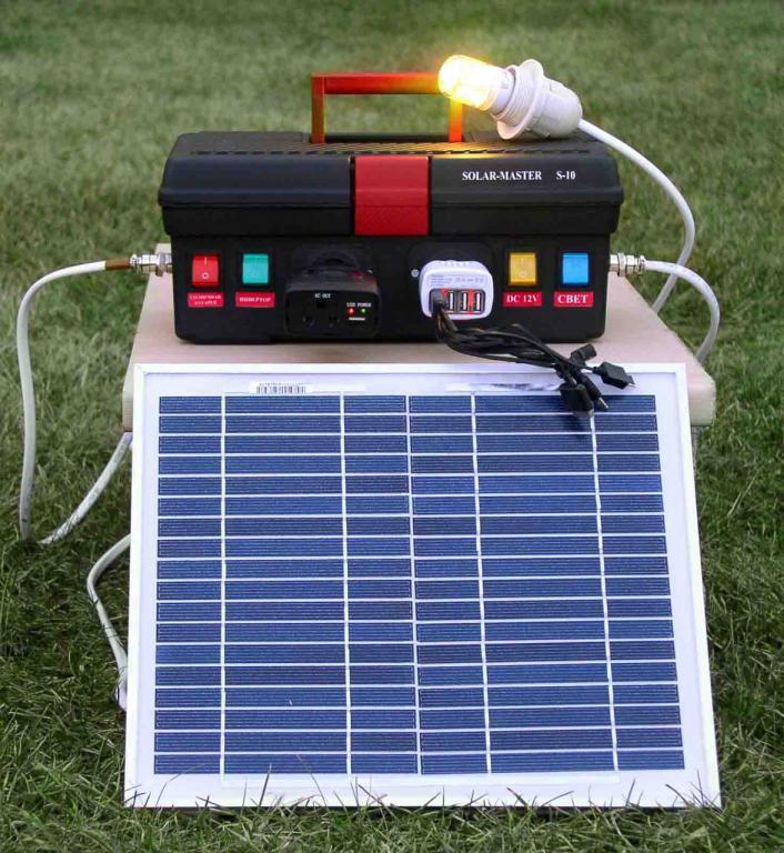 Что такое генератор на солнечных батареях и время его работы