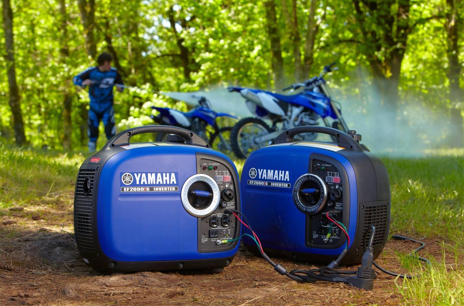 Инверторный бензогенератор плюсы и минусы Yamaha 2000