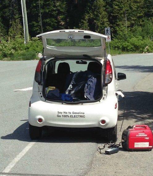 Зарядка электромобиля от генератора как правильно заряжать