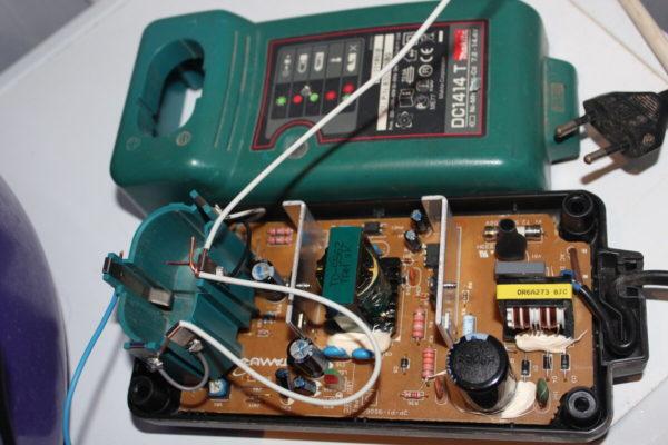зарядное устройство для шуруповерта NiCd-NiMH