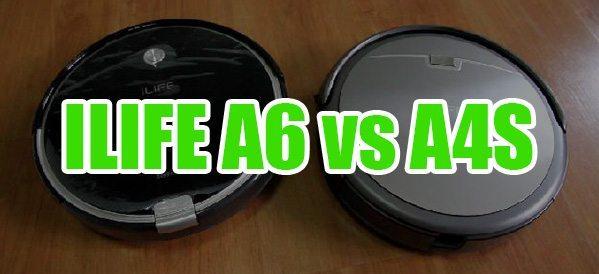 Ilife A4S или A6 какой из роботов пылесосов лучше Сравниваем