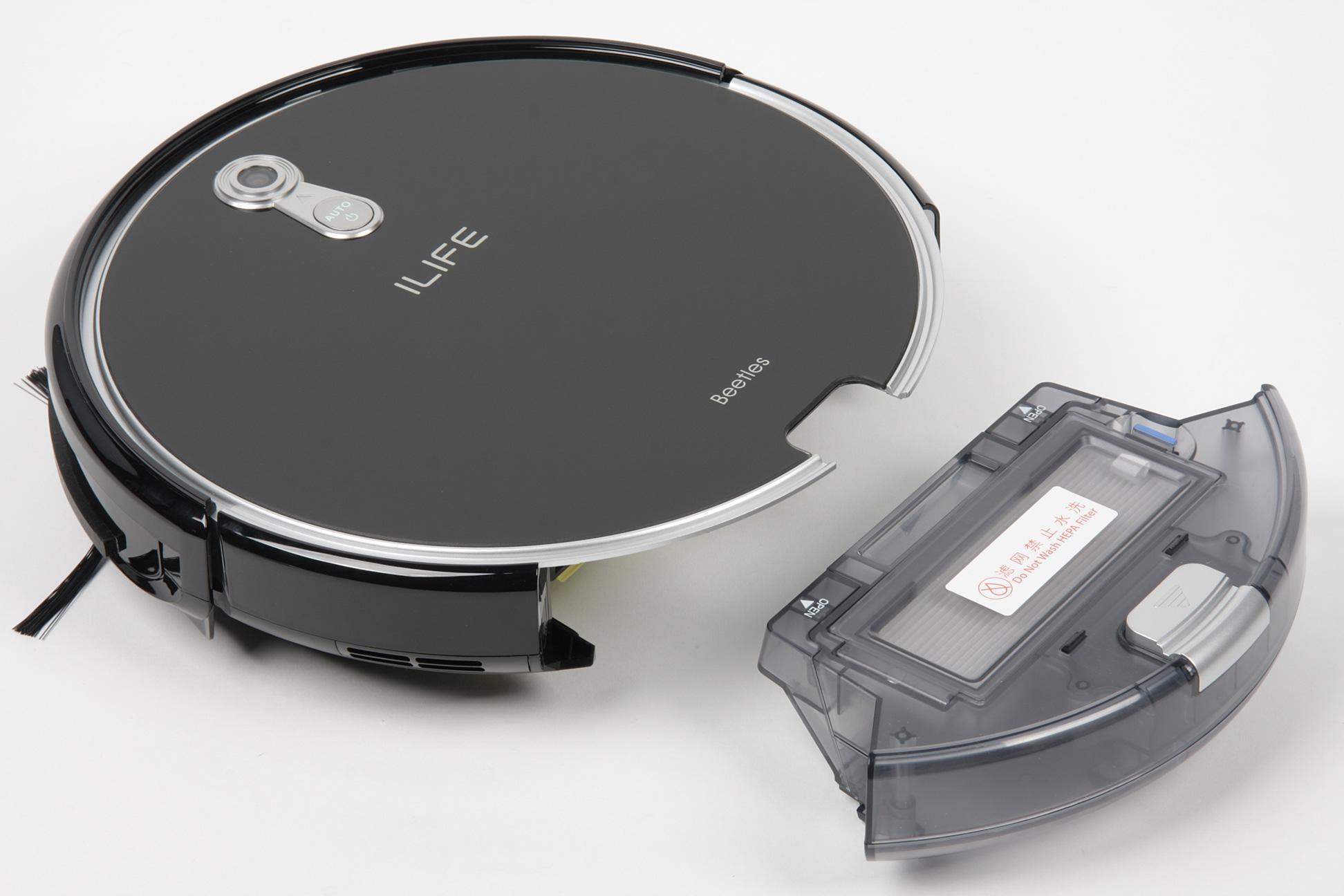 Ilife A8 обзор робота пылесоса со сканером помещения