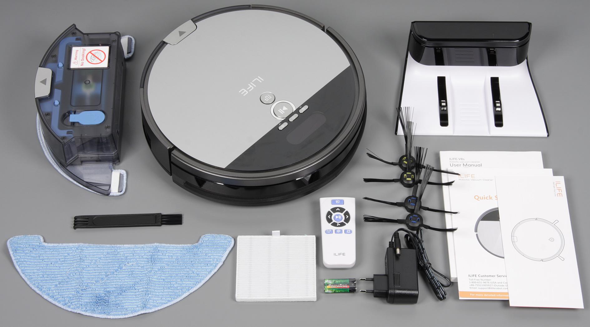 Обзор ILIFE V8S робот пылесос отзывы, инструкция, характеристики