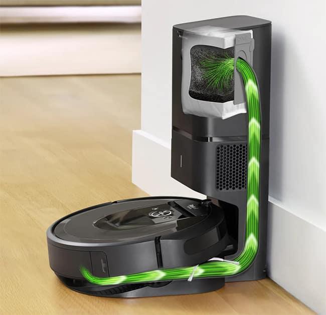 Обзор iRobot Roomba I7 +Лучший самоочищающийся робот пылесос