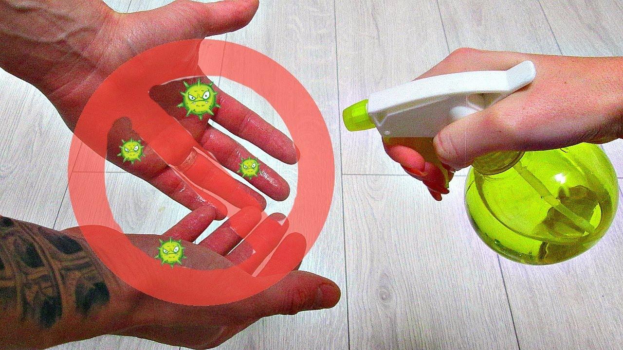 Как приготовить дезинфицирующий раствор для рук в домашних условиях