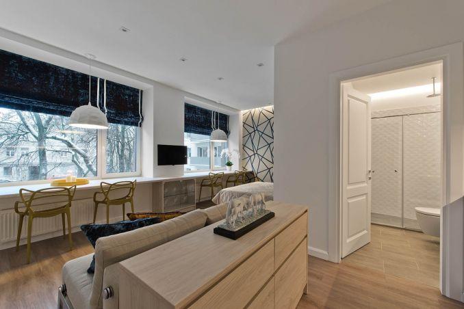 Интерьер однокомнатной квартиры 30 м2
