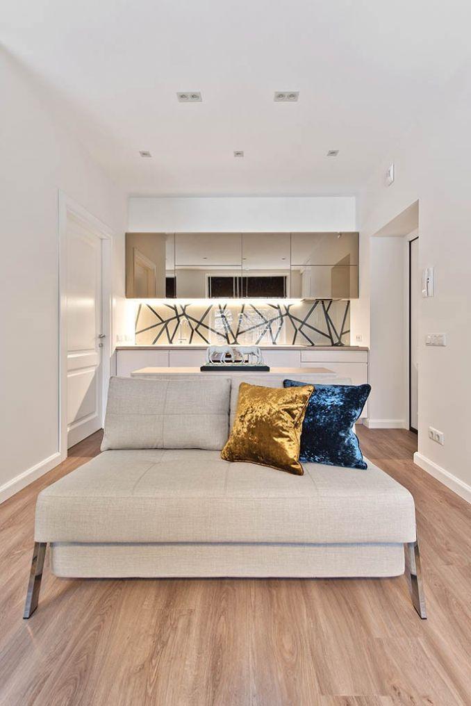 Интерьер для однокомнатной квартиры 30 кв.м