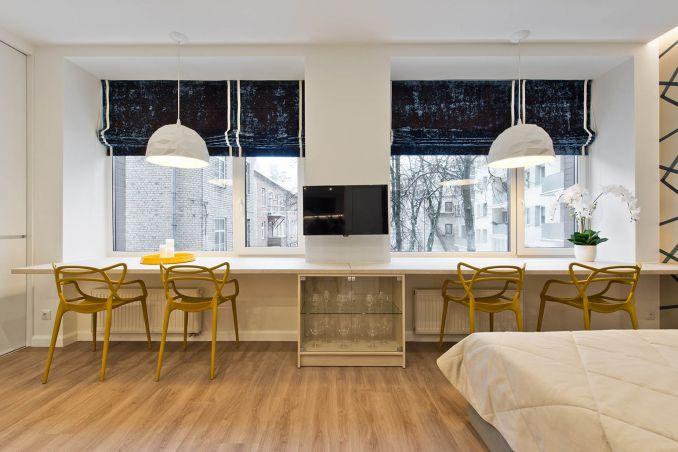 Интерьер однокомнатной квартиры 30 кв.м