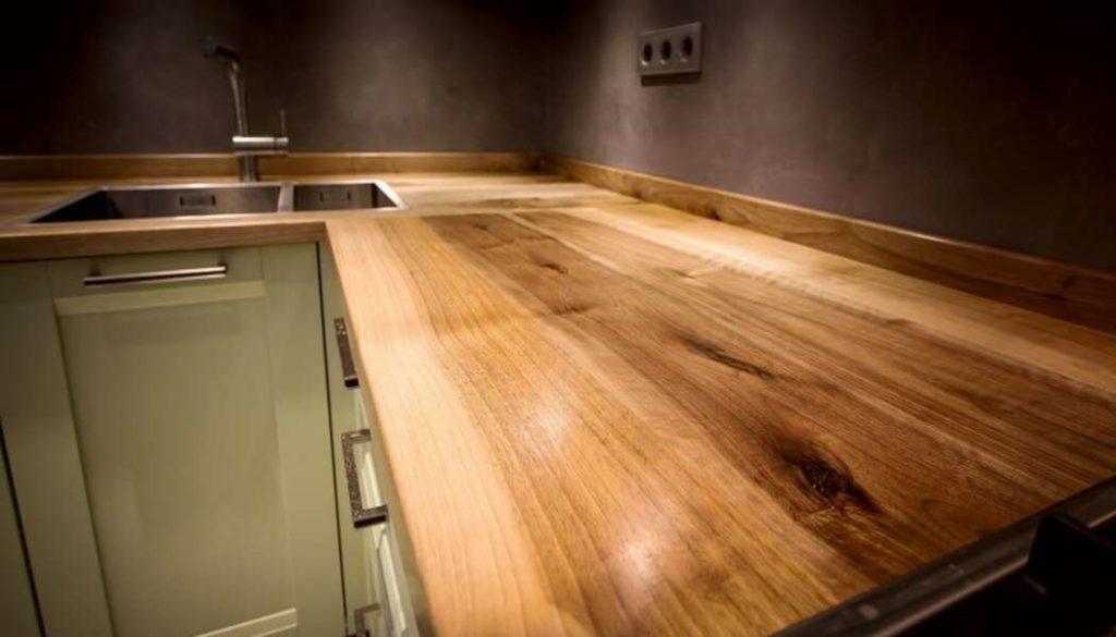 Из какого материала лучше сделать столешницу на кухню