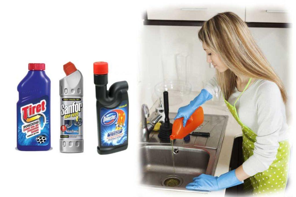 Как правильно прочистить раковину