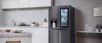 Лучшие холодильники LG InstaView Door-in-Door