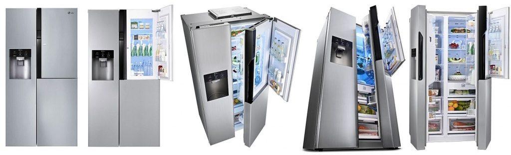 Лучшие модели холодильников LG Door-in-Door