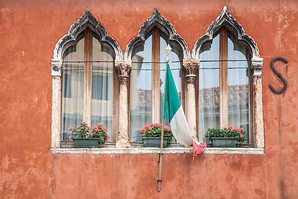 Окна в итальянском стиле