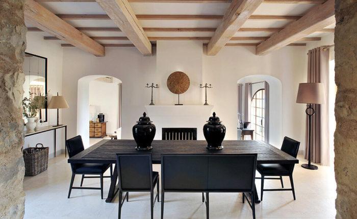 Стены и потолки в итальянском стиле