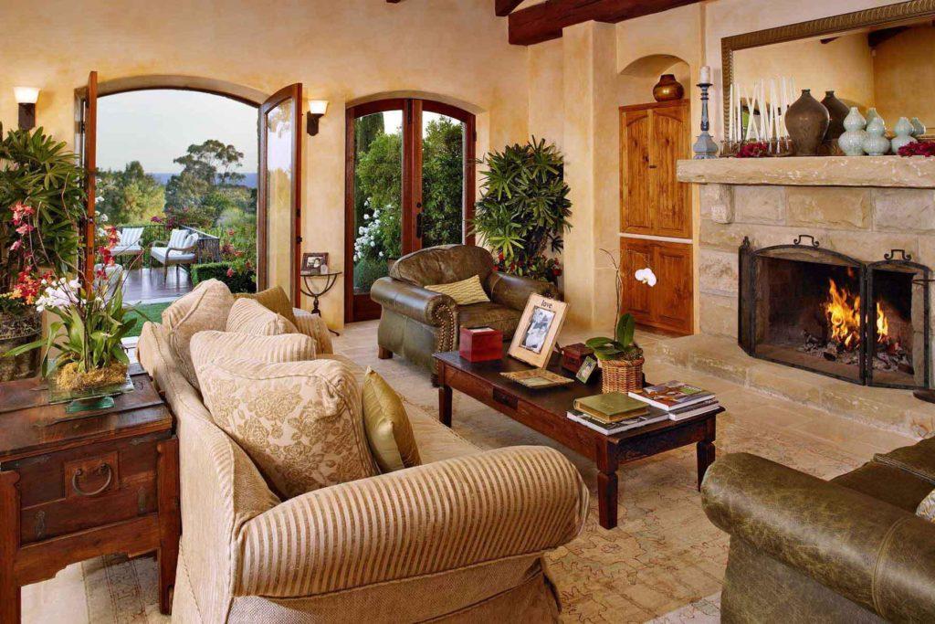 интерьер дома в провинциальном итальянском стиле