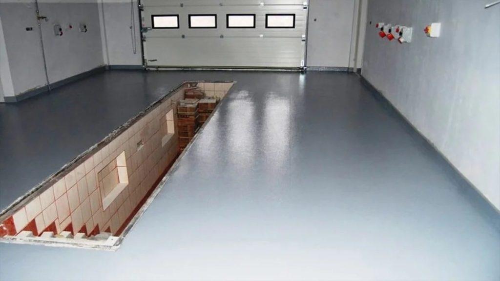 Краски для бетонного пола в гараже или подвале