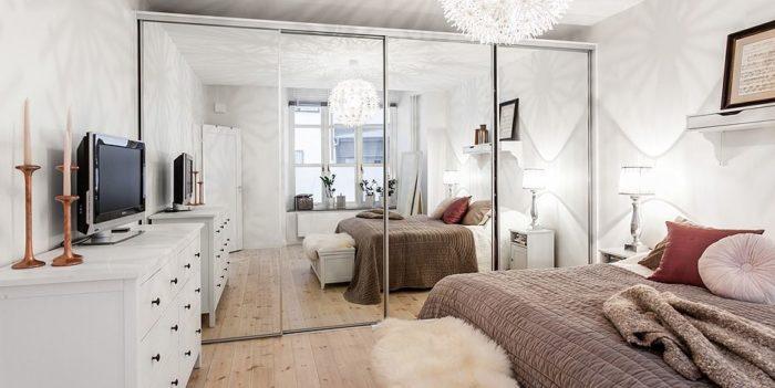 как визуально расширить маленькое пространство комнаты