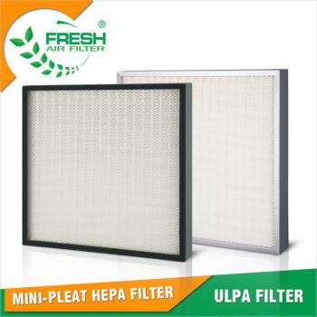 характеристики ULPA фильтров
