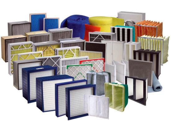 класификация и характеристики воздушных фильтров для очистки воздуха