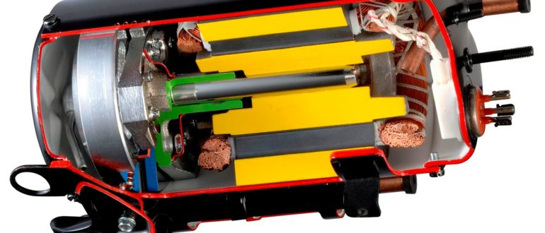 принцип работы роторного компрессора