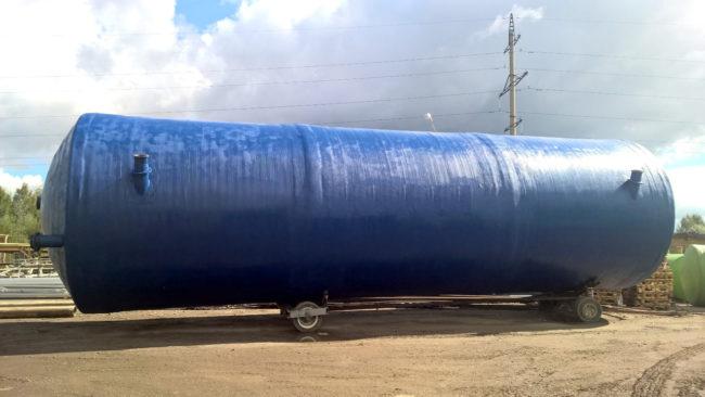 Резервуары из стеклопластика