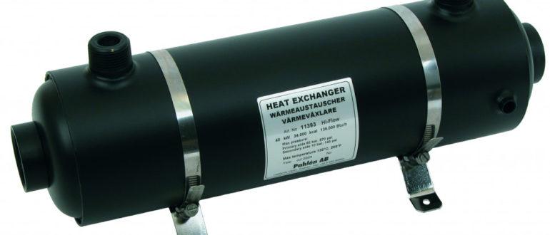 Теплообменник вода-вода принцип работы
