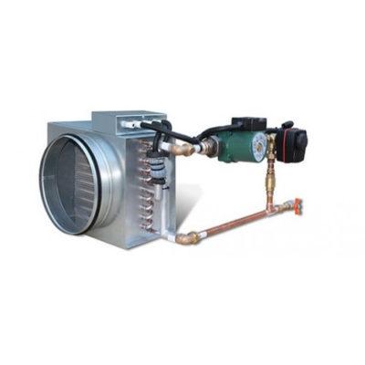 Теплообменники вода-воздух принцип работы и схема