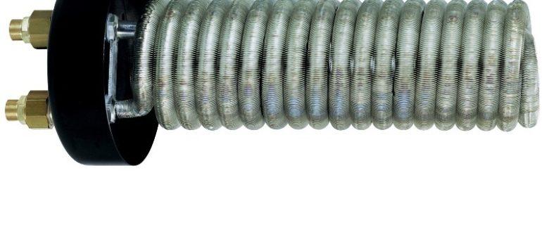 Виды змеевиковых теплообменников