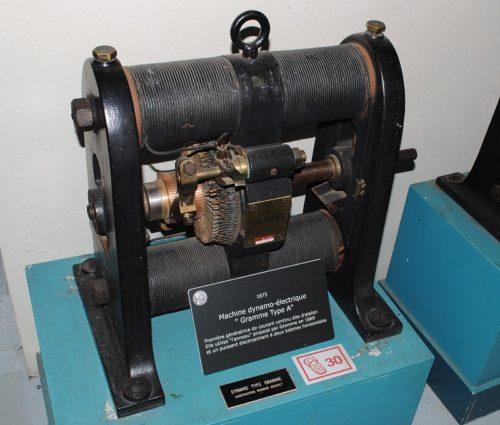 электрический генератор Грамма