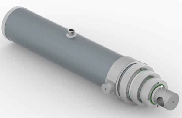 устройство телескопических цилиндров