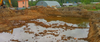 как снизить уровень грунтовых вод